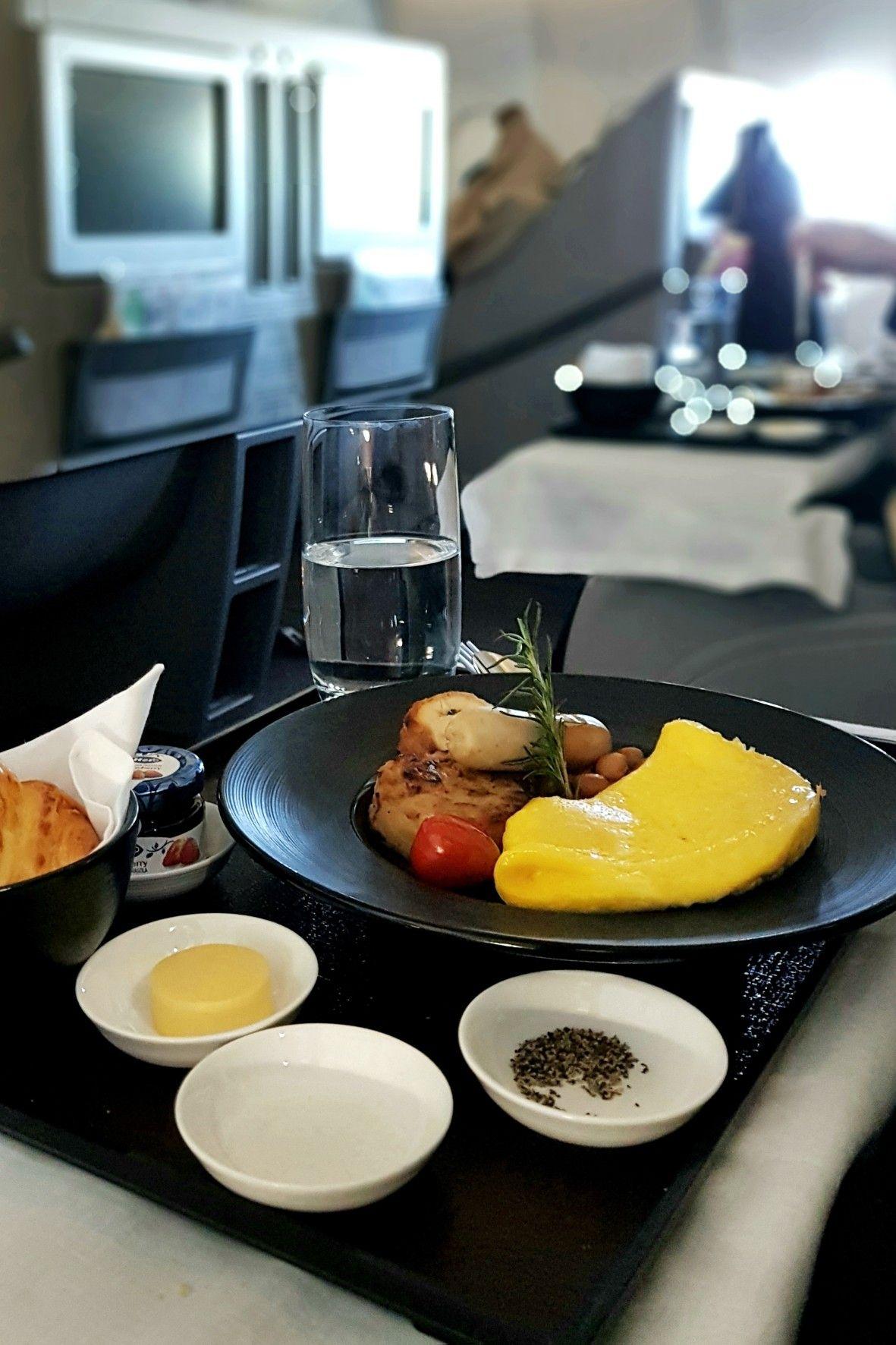 """Omelette"", In Flight Garuda Indonesia, Jakarta"