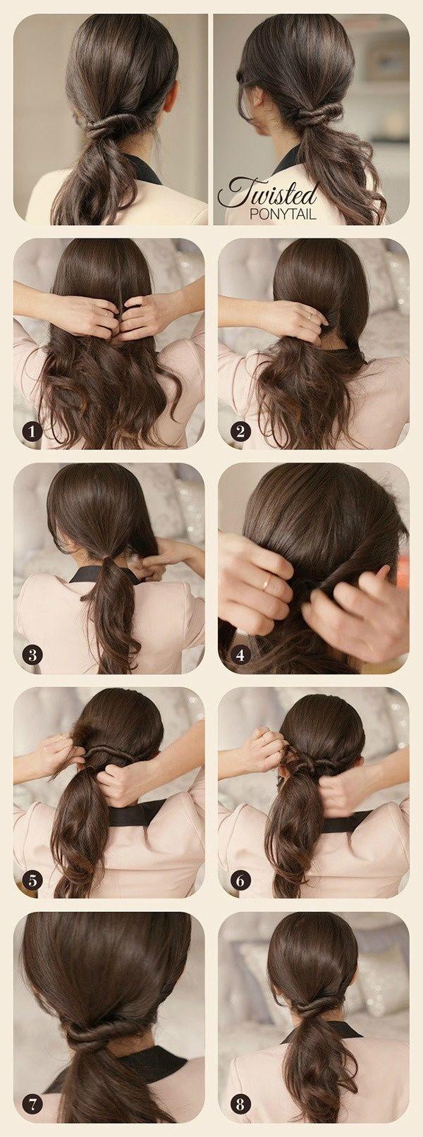 Beautiful hair tutorial easy hair style pinterest beautiful