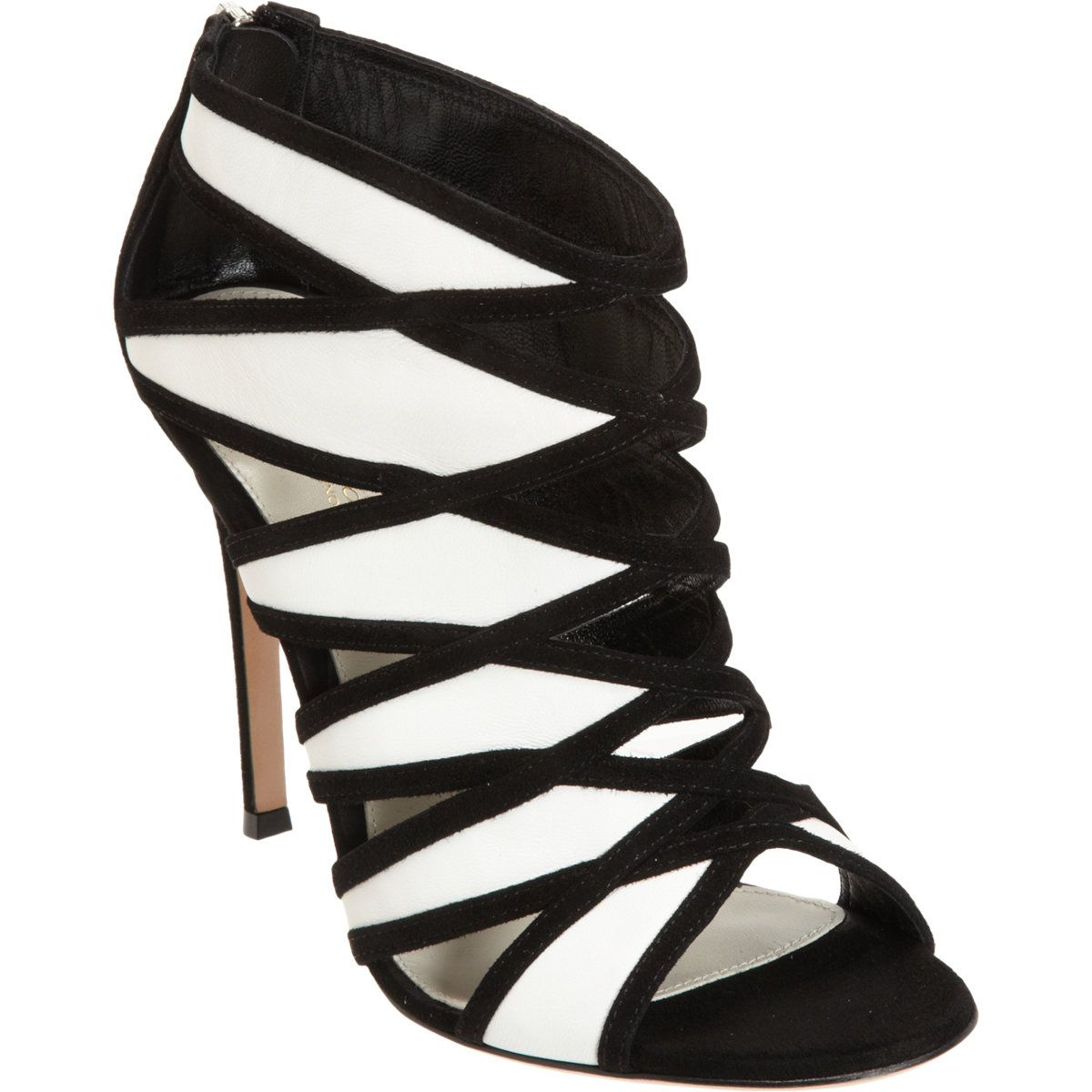 Gianvito Rossi Cutout Sandal Bootie at Barneys.com