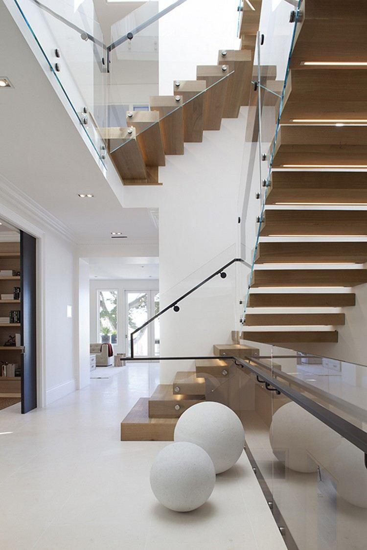 Escalier Quart Tournant Moderne Design Solide Astuces Installation Idée  Déco Intérieure (2) #stairs