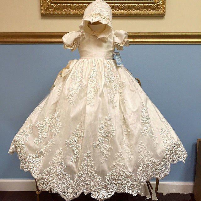 Günstige Neue infant mädchen taufe dress taufe kleid lolita stil ...