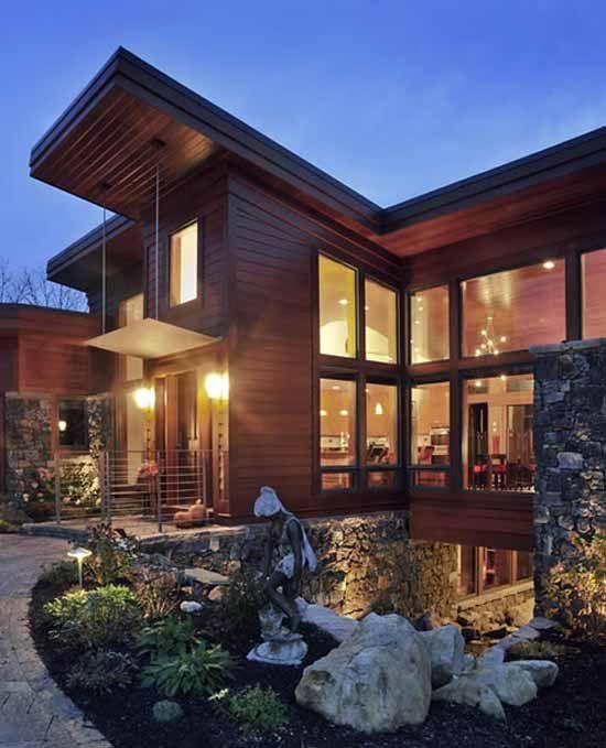 Beautiful House House Styles Cedar Homes Custom Homes