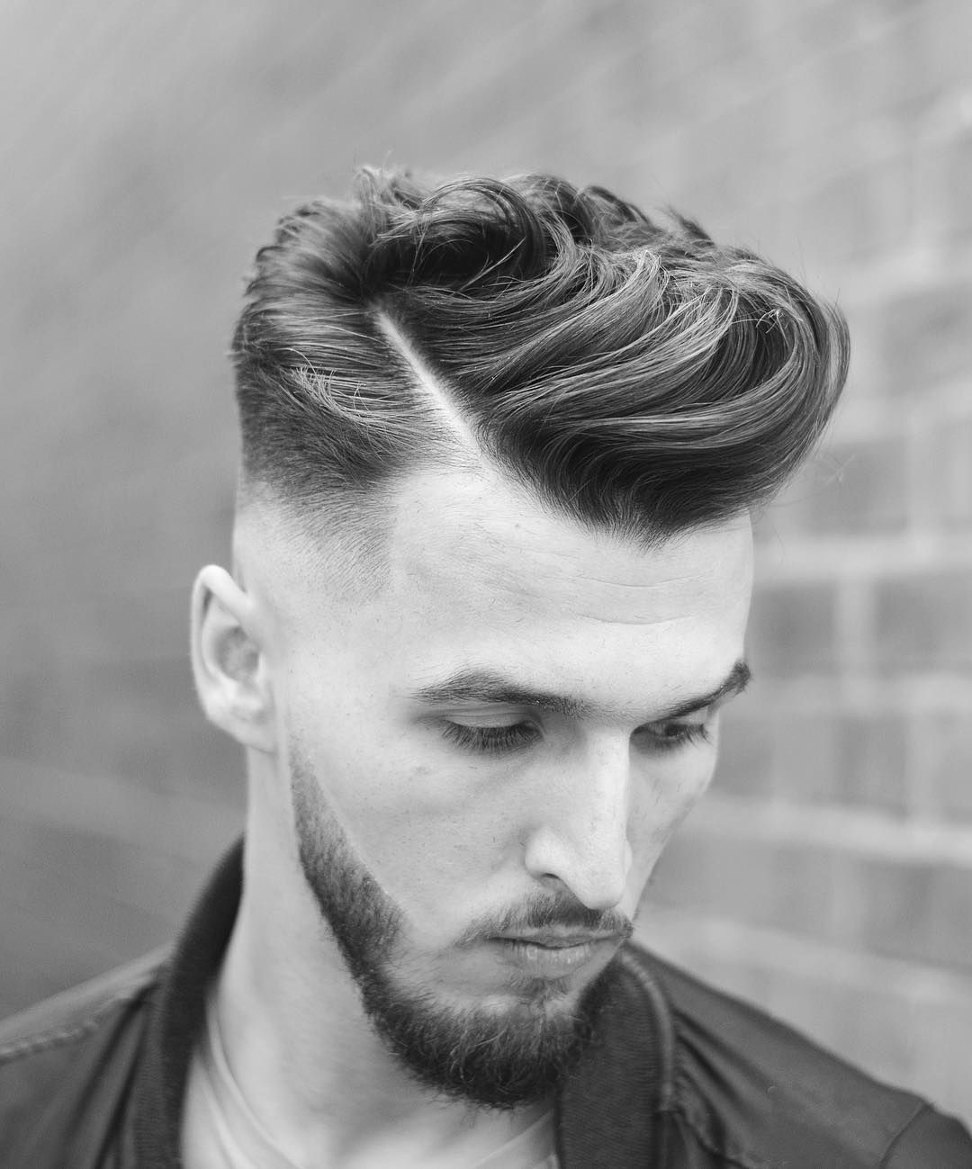 Mens haircuts with beards  menus hairstyles to try in   retro hairstyles hair trends