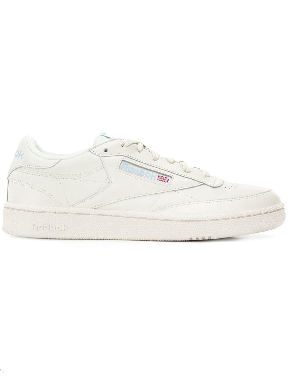 610ed88574a16 REEBOK REEBOK CLASSIC LOW SNEAKERS - WHITE.  reebok  shoes