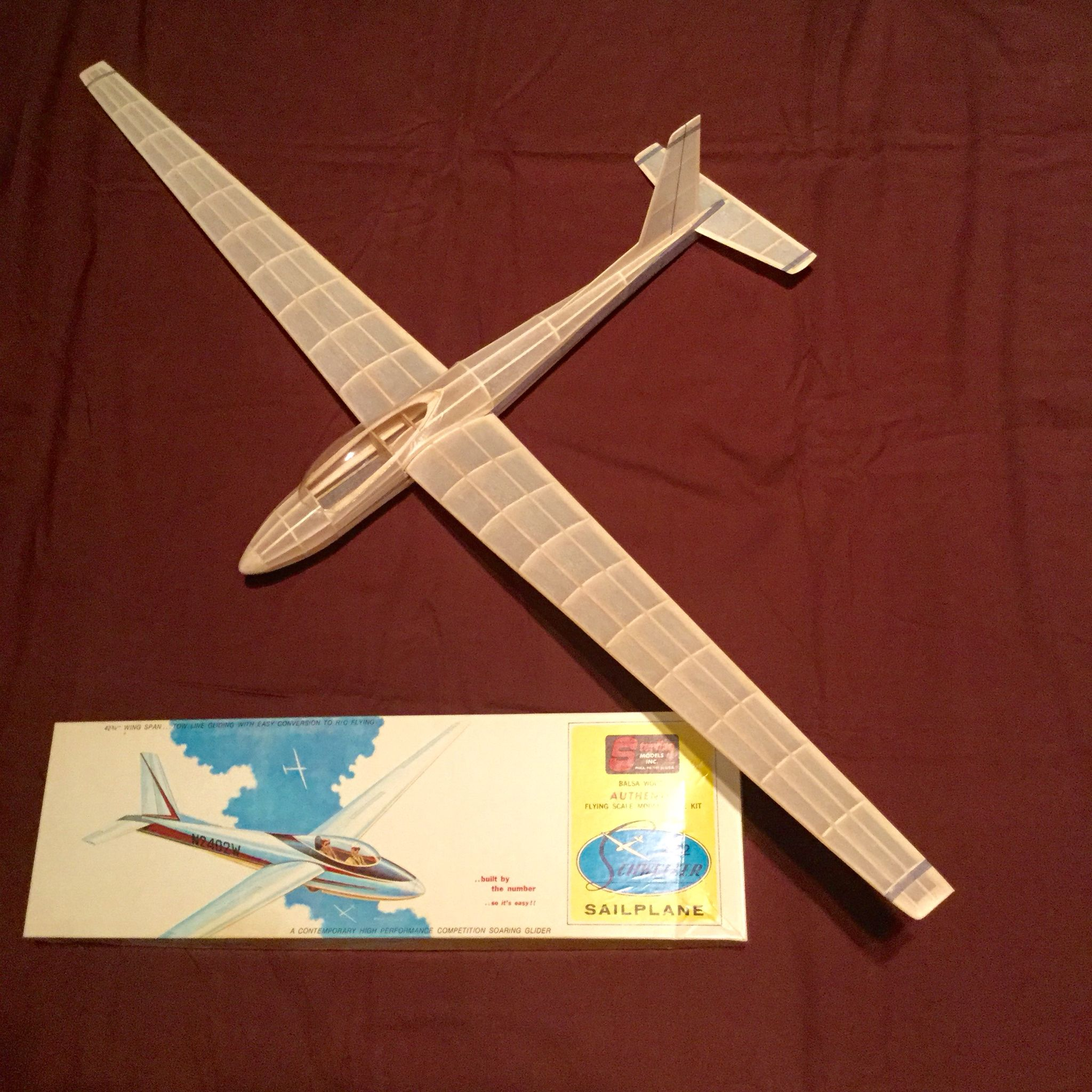 Model Glider Kit | model kits | Rc glider, Plane design, Wooden airplane