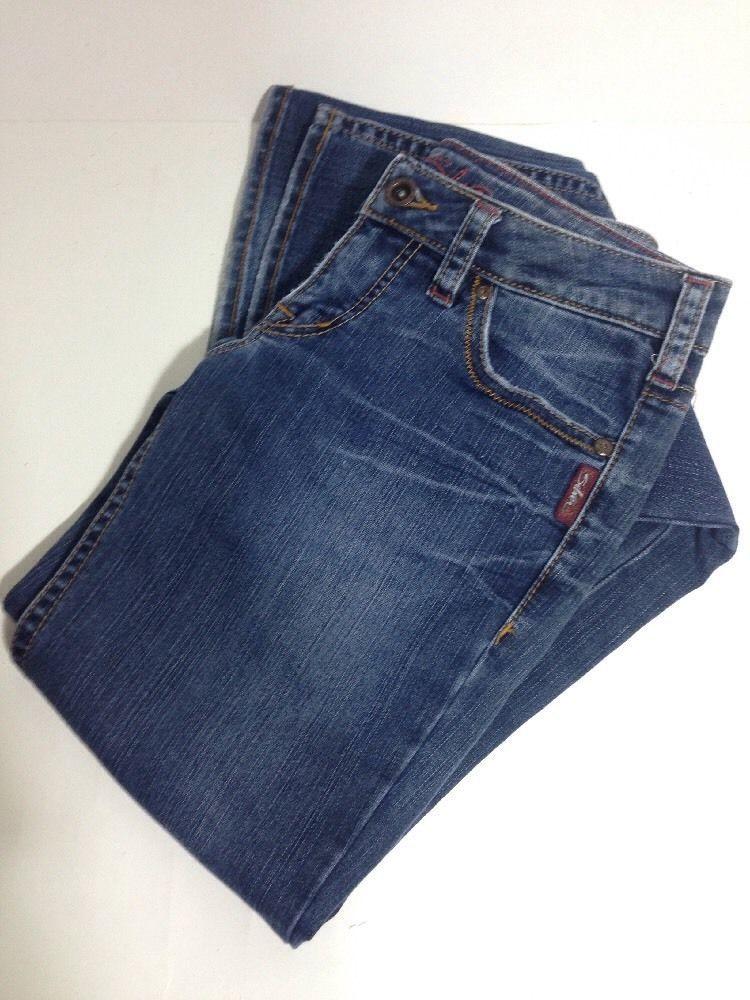 Silver Jeans Women's 27 Waist Denim Flare Boot Cut 33 Inseam AIKO #SilverJeans #BootCut #denim