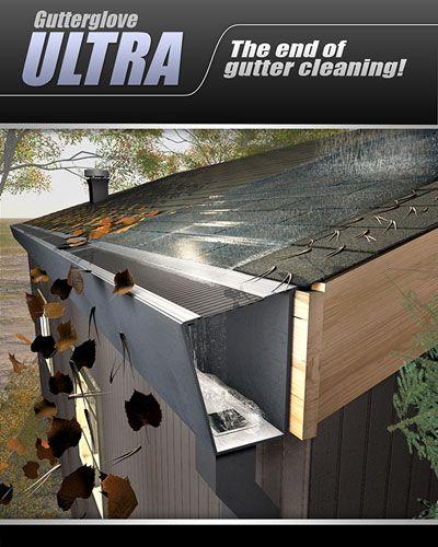 Gutterglove Ultra Excellent Gutter Protection Outdoor Decor Gutter Guard Gutter