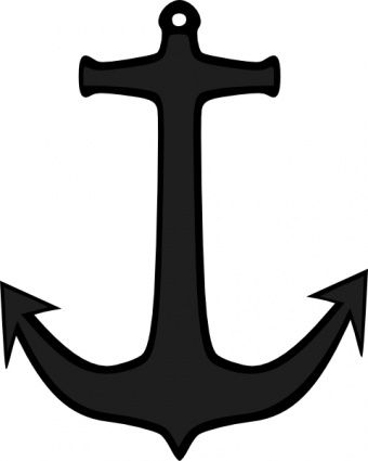Simple Anchor Clip Art Anchor Clip Art Anchor Drawings Wall Art Diy Easy