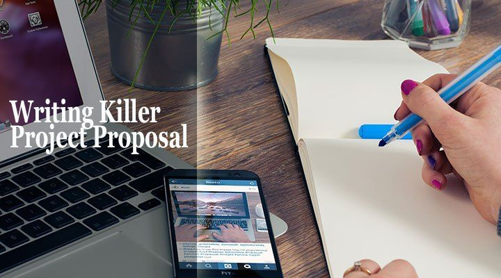 Writing sound project proposal is a key component in sealing a - project proposal