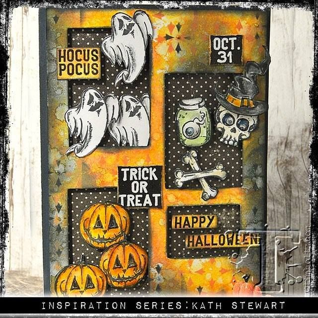 Tim Holtz Halloween Inspiration Series...Scared Silly (Kathu0027s Blog). Oct  2017Tim ...