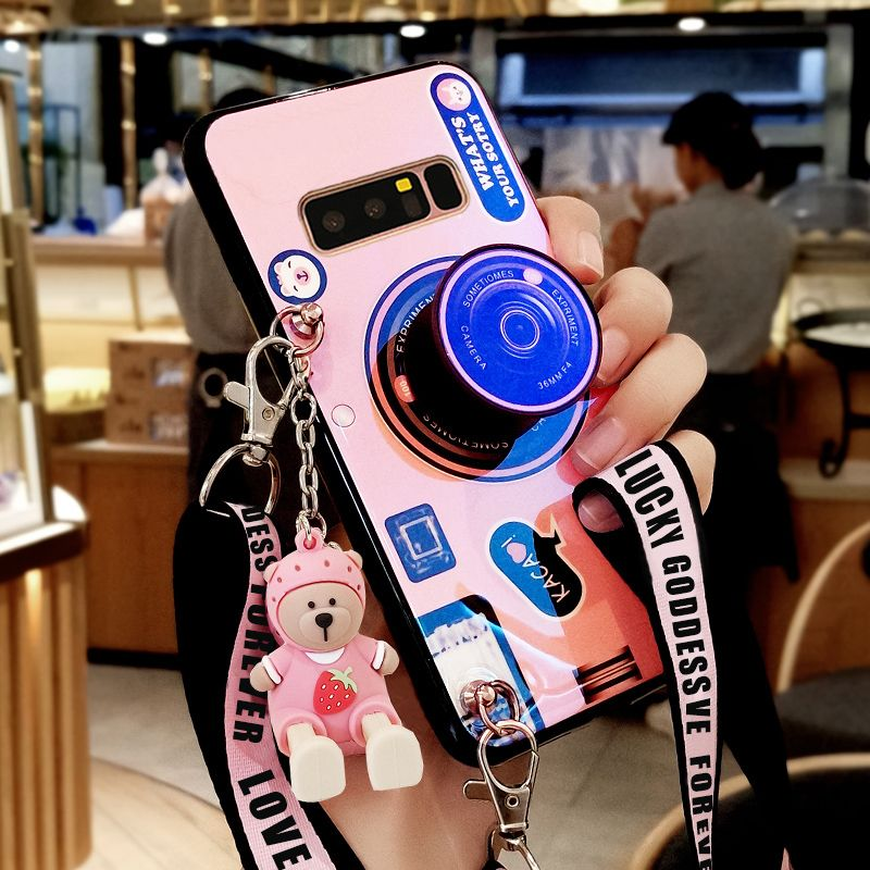 All-inclusive Camera Case Cover For Samsung S10 9 8 Plus Note 9 8 With Lanyard SGN806