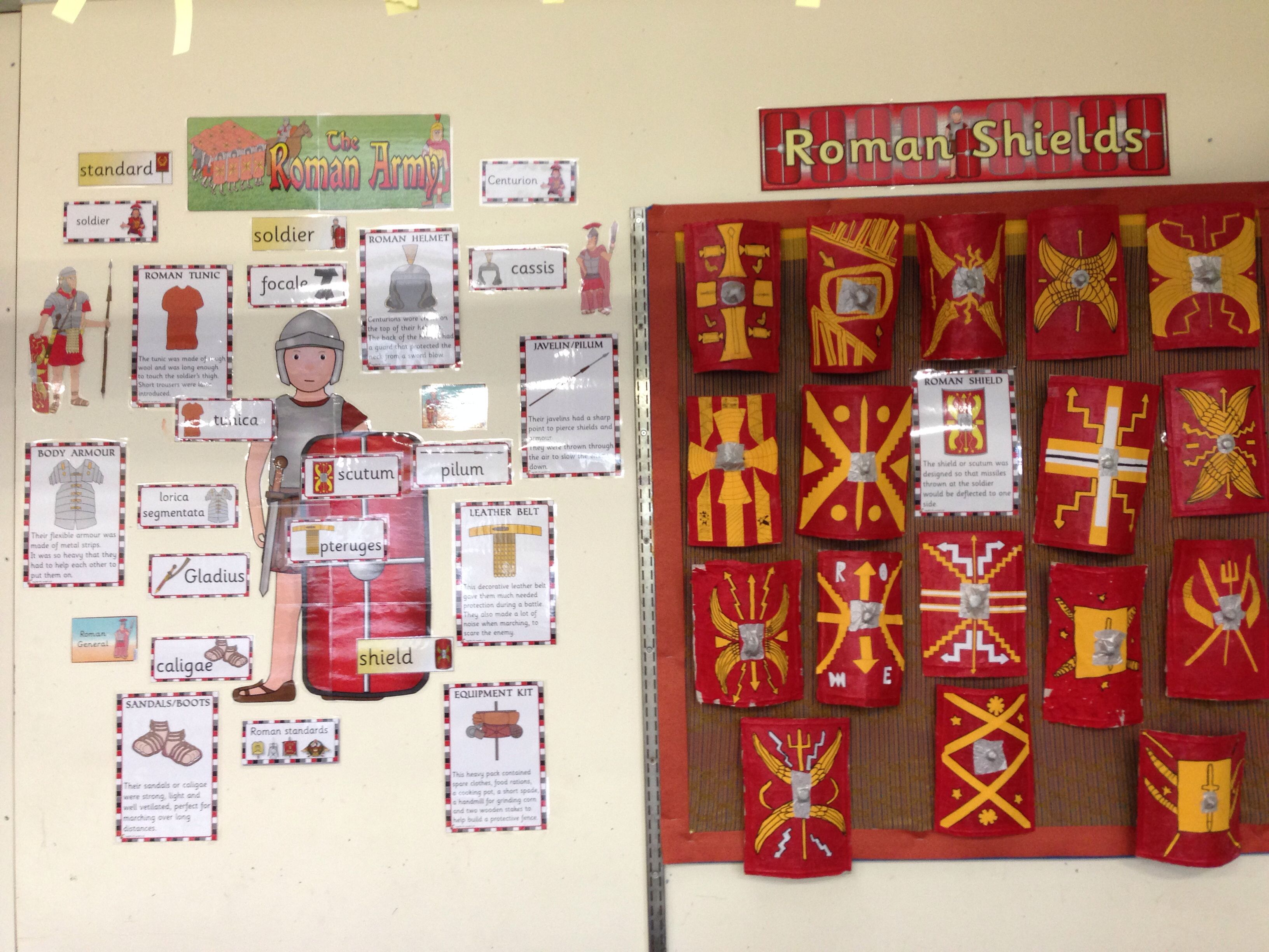 Roman Army Display
