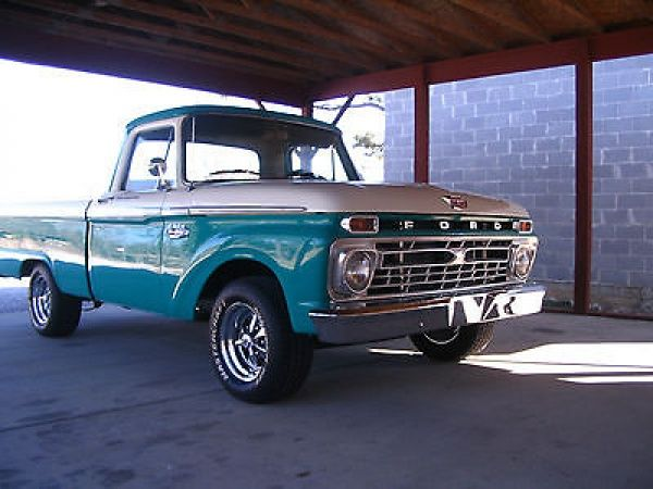 1966 Ford F100 Custom Cab Short Bed Pickup Truck I Had A 62