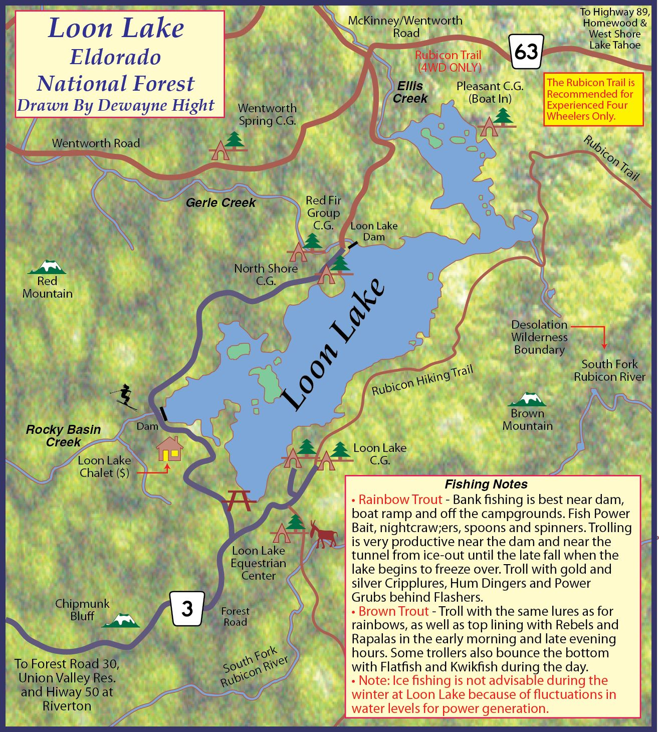 Loon Lake Lake Shastina Folsom Lake Shasta Lake
