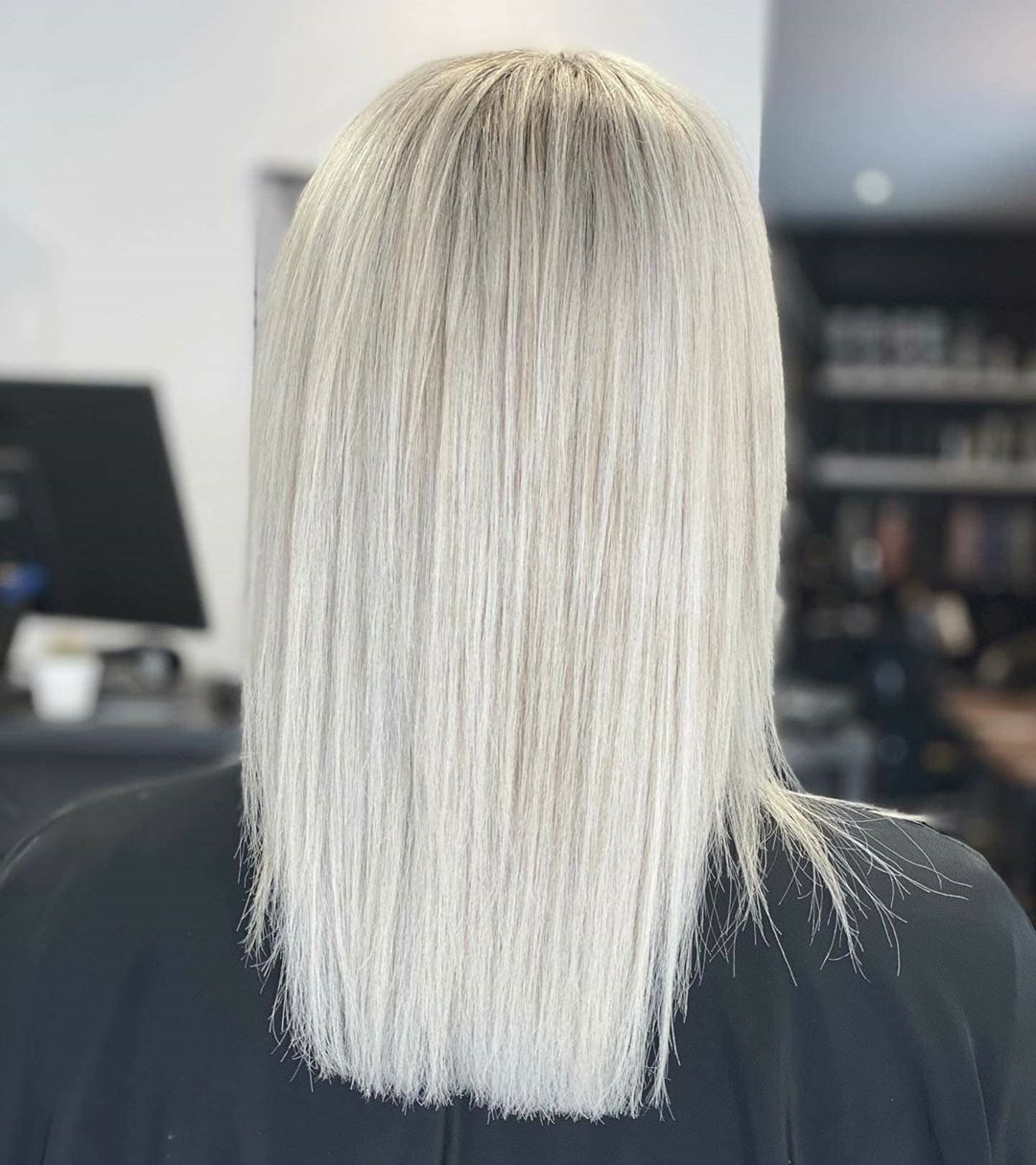 Blond Polaire Blond Polaire Blond Coiffures Droites