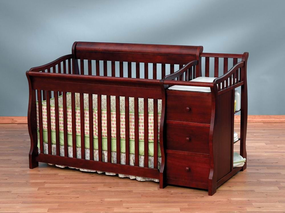 Sorelle Tuscany 4 In 1 Convertible Crib 1050g All