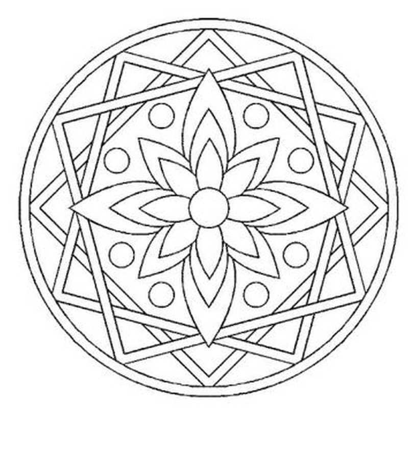 Lots of mandalas to print and colour