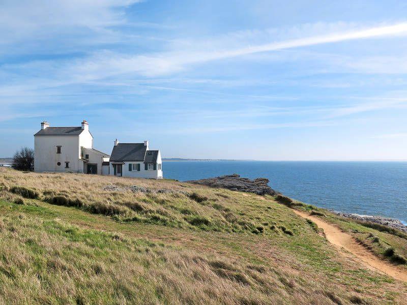 BretagneFerienhaus für 6 Personen direkt am Meer (mit