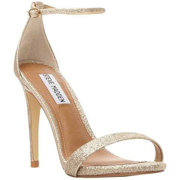 eef7080fe30f76 Steve Madden Stecy Barely There High Heeled Sandals