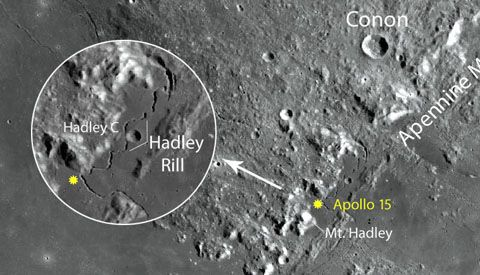 how to see all six apollo moon landing sites sky amp telescope - 480×275