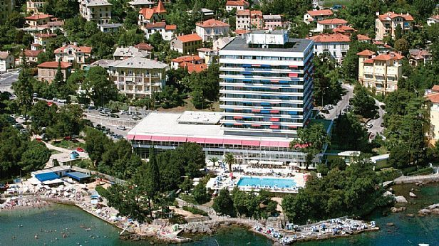 Hotel Ambassador Opatija Croatia Outdoor Europe Travel Croatia