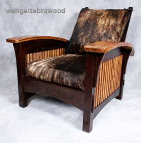 Tremendous Morris Chair W Cowhide Fabric Bonus Room Kids Room Gmtry Best Dining Table And Chair Ideas Images Gmtryco