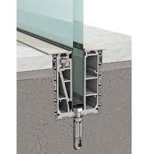 Recessed Channel Glass Wall Concrete Dwg的圖片搜尋結果 Detail