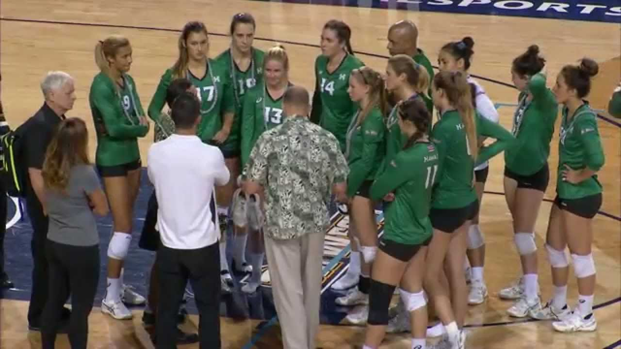 Bwconespn3 Wvb Rainbow Wahine Claim 2015 Crown With Images Volleyball News Women Volleyball Volleyball