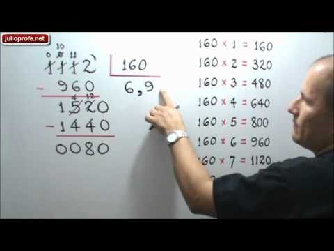 División De Números Decimales Julio Rios Explica Cómo Efectuar La División Entre Números Decimales Numeros Decimales Dividiendo Decimales Fracciones Decimales