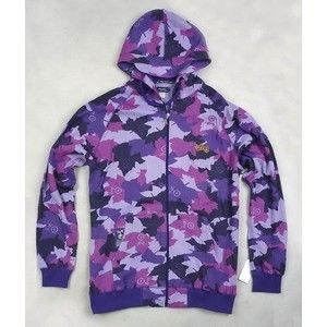 purple camo | LRG Purple CAMOUFLAGE COVER ZIP UP HOODY - Polyvore ...