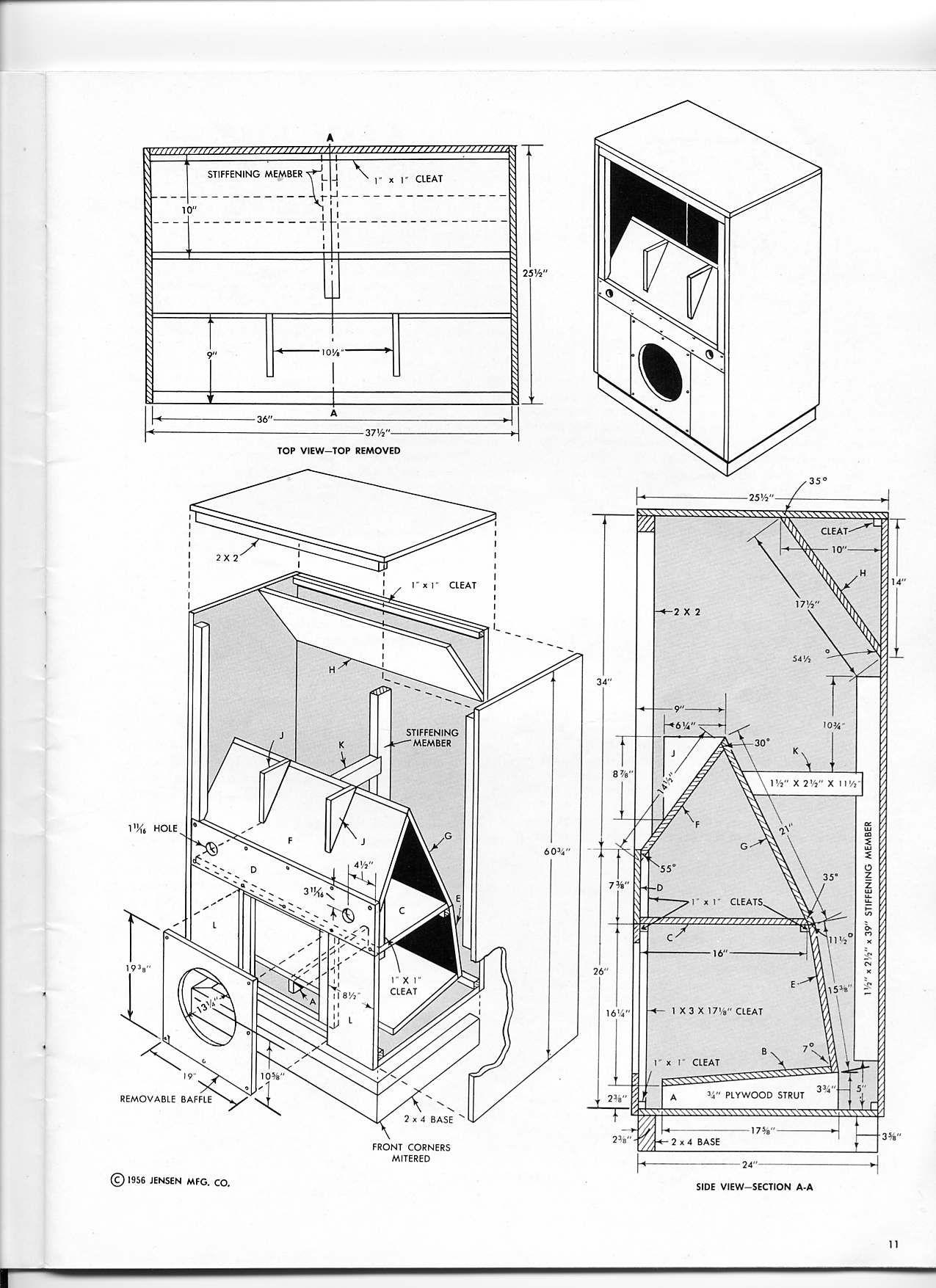 diy speaker cabinet plans