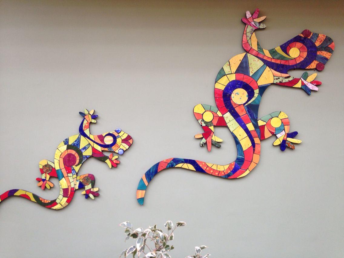 Lagartos mosaicos pinterest mosaics