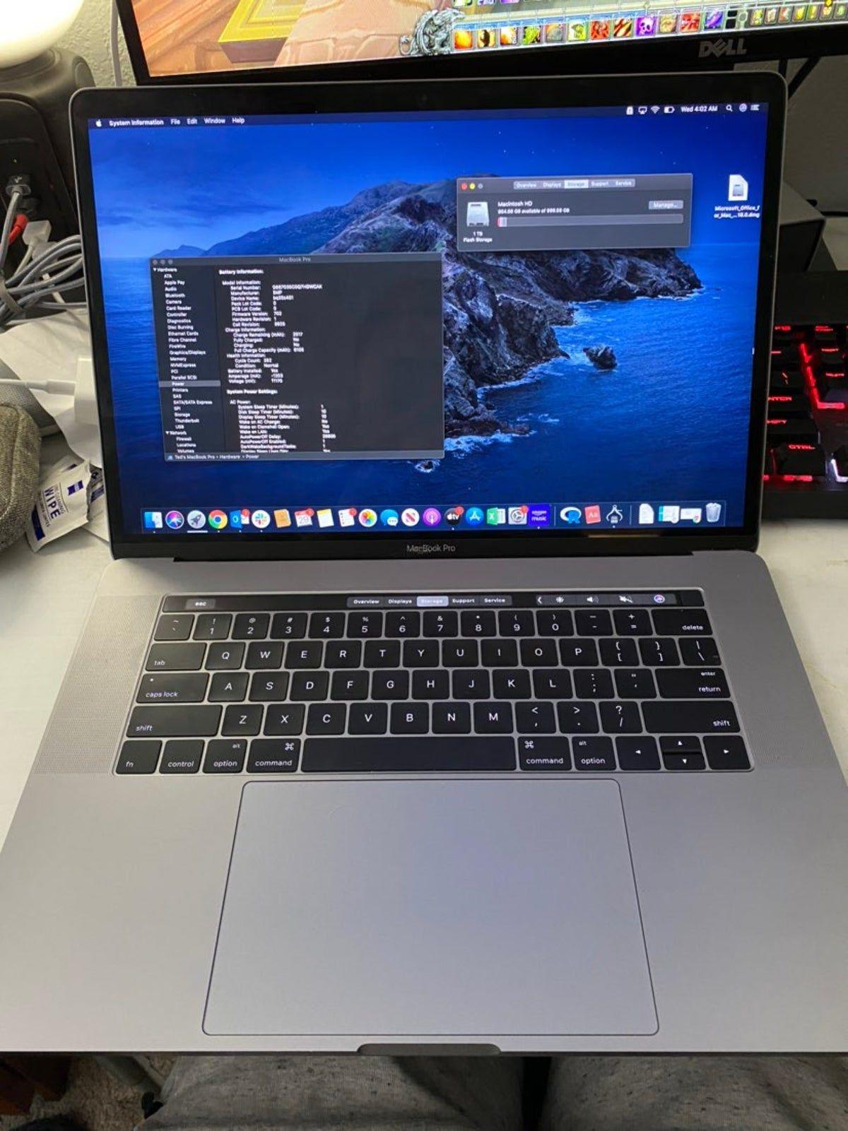 2016 Macbook Pro 15 With Touch Bar In 2020 Macbook Pro Macbook Pro 2016 Macbook