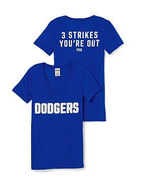 e4bf964d8f361 Dodgers t-shirt. Victoria s Secret. Pink.