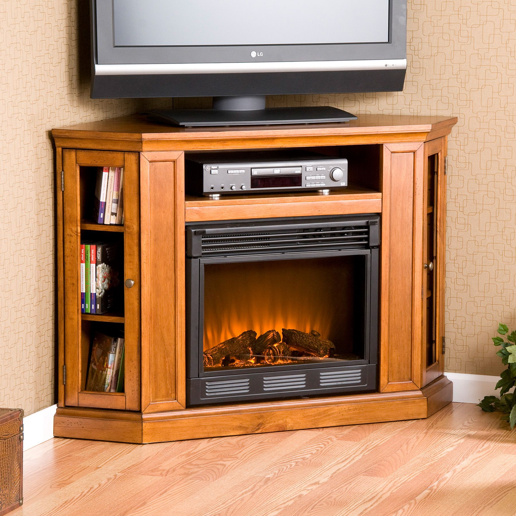 Fireplace tv stand and Electric fireplaces