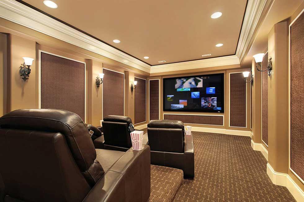 A Traditional Style Cinema Design By Av Fuse Ltd | _Home Cinema