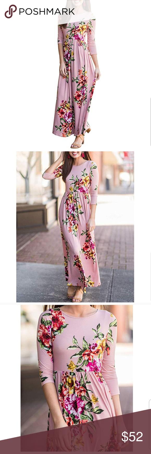 Floral Maxi Dress Mauve Color Stretch New Floral Maxi Maxi Dress Maxi Dress With Sleeves [ 1740 x 580 Pixel ]
