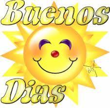 Buenos días [Good morning in Spanish] | Good morning in ...