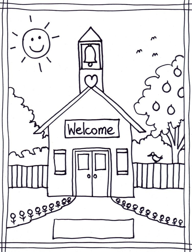 Back To School Coloring Pages For Elementary School Kindergarten Coloring Pages School Coloring Pages Kindergarten Colors
