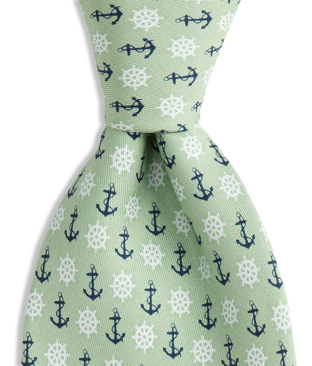 e136eb55a6c5 Vineyard Vines - Anchor & Wheel tie for hubs | My Style | Silk ties ...