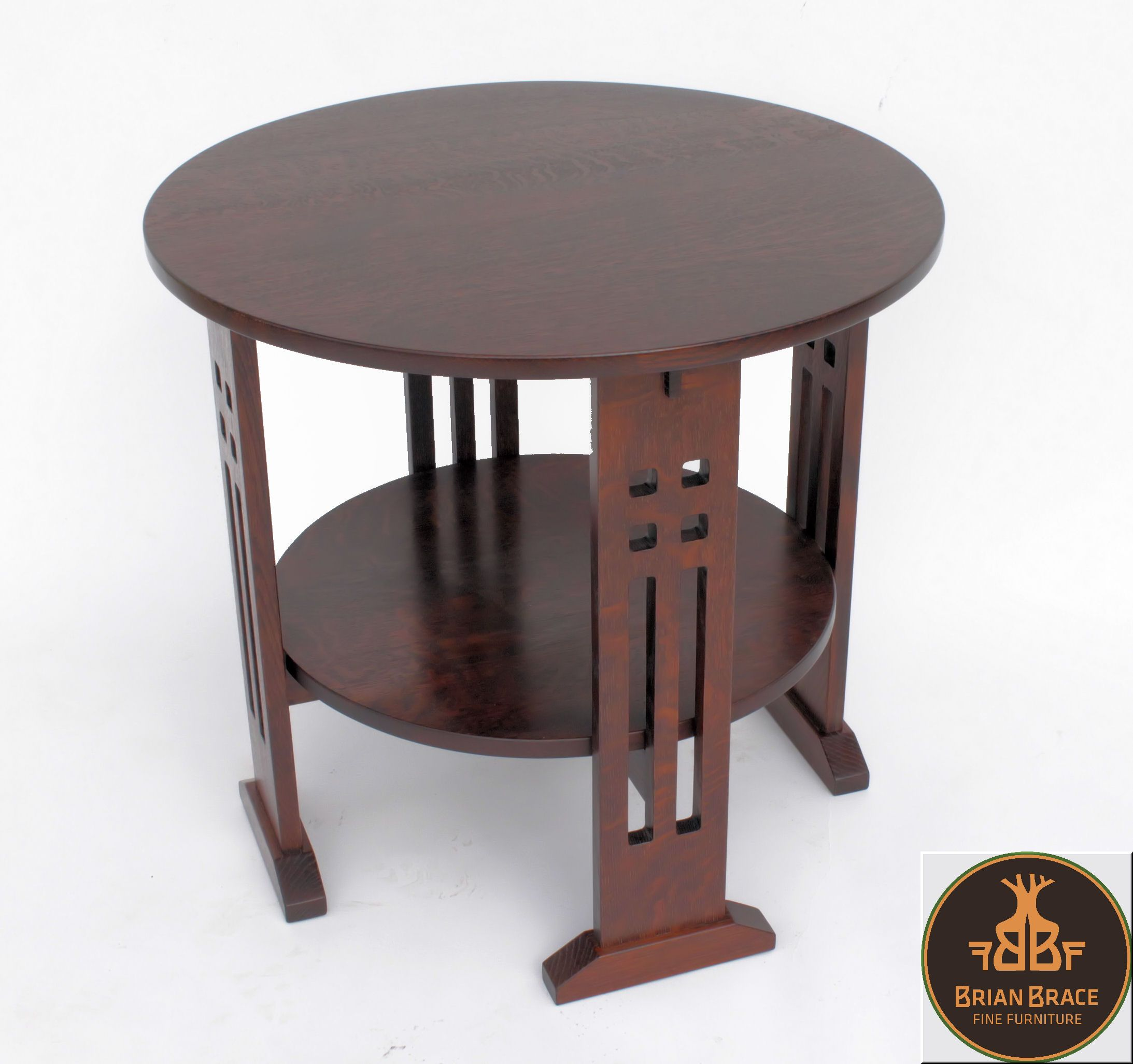 Limbert Arts and Crafts Round Table A&C Limbert