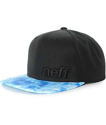 131dc8c54f8 Neff Daily Haze Acid Wash Snapback Hat