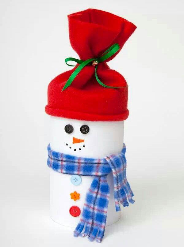 Lavoretti Di Natale Con Rotolo Di Carta Igienica.40 Idee Per Lavoretti Di Natale Con Rotoli Di Carta Igienica