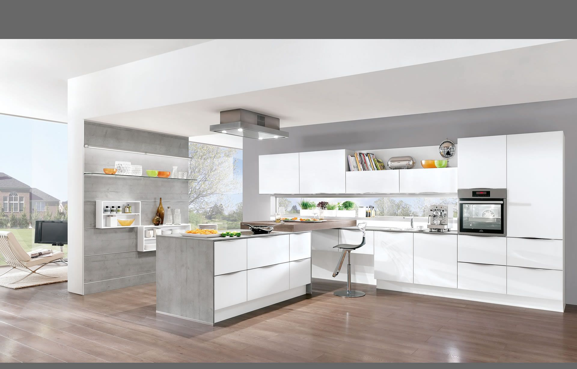 nobilia Küchen - Produkte - Küchengalerie - Weiß | Küche | Pinterest ...