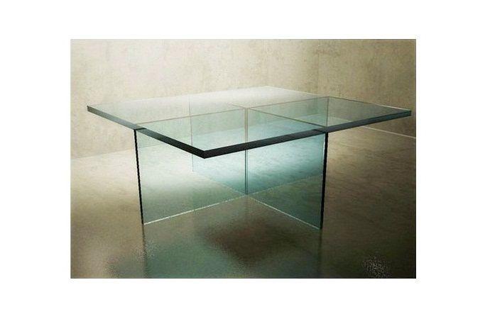 Mesa de Comedor Cristal Cuadrada http://dizenos.cl/mesa-de-comedor ...