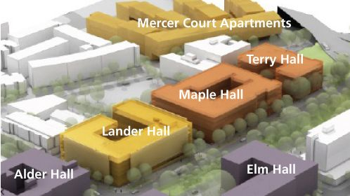 Uw Housing Food Services Housing West Campus Campus Map Food Service