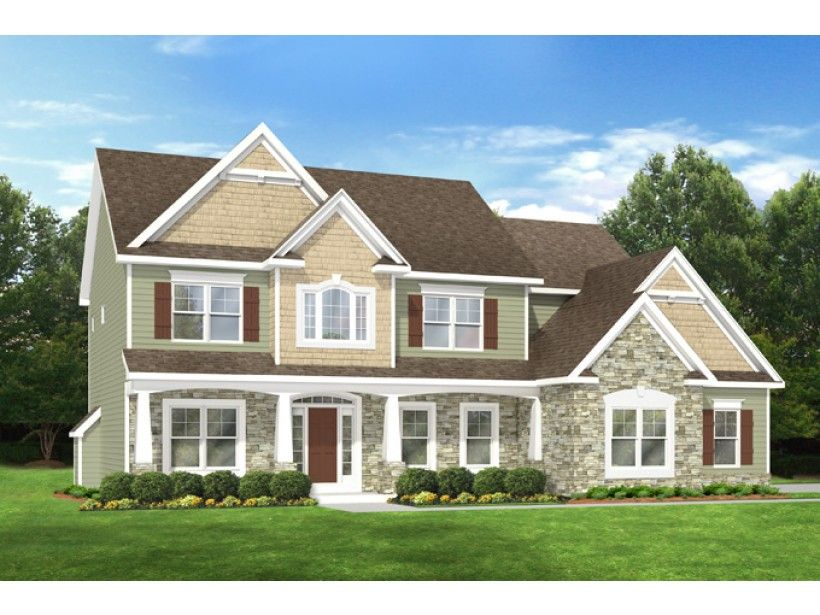 ePlans Country House Plan u2013 Colonial With