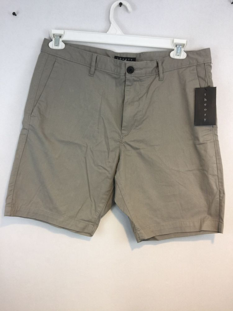 a7d8efb39f Theory Mens Shorts Gray Size 34 NWT Rn98406 #fashion #clothing #shoes # accessories #mensclothing #shorts (ebay link)