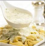 CREAMY ALFREDO SAUCE - An Alfredo sauce with parmesan and mozzarella cheeses. Brookshire's