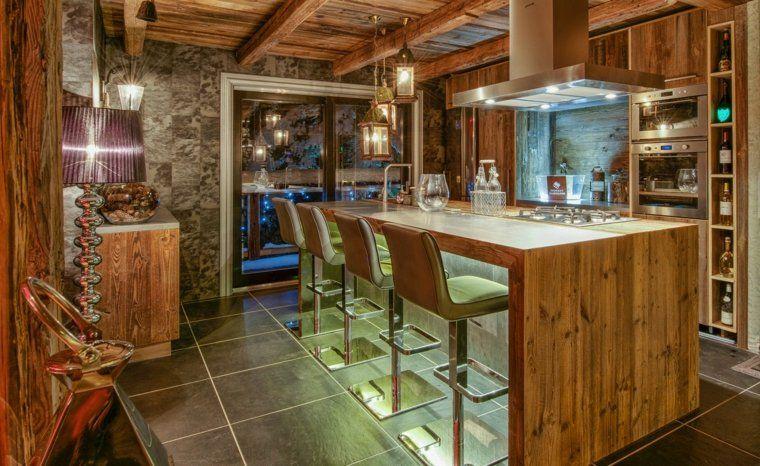 Décoration intérieur chalet montagne : 50 idées inspirantes | Barn
